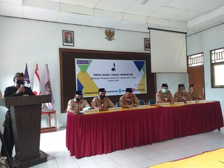 Relawan Mandiri Covid-19 Kota Tegal, Pramuka Garda Terdepan