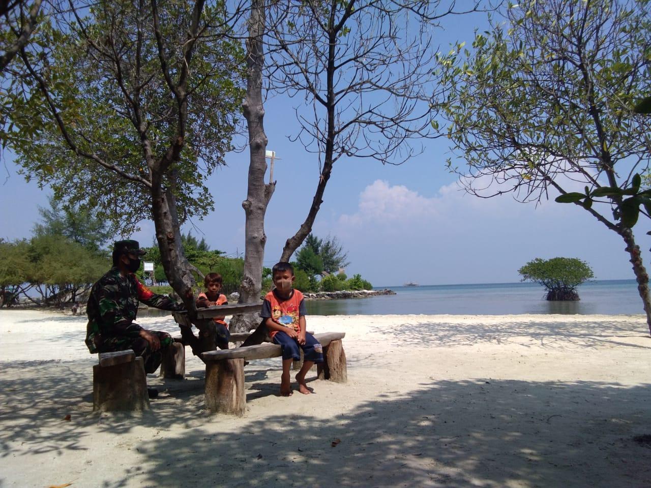 Pulau Lancang Resmi Launching Wahana Pantai Karma Kepulauan Seribu