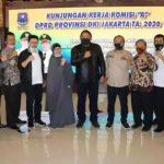 Kunjungi Kota Tegal, Komisi A DPRD DKI Jakarta Apresiasi Keberhasilan  Kota Tegal Tangani Covid-19
