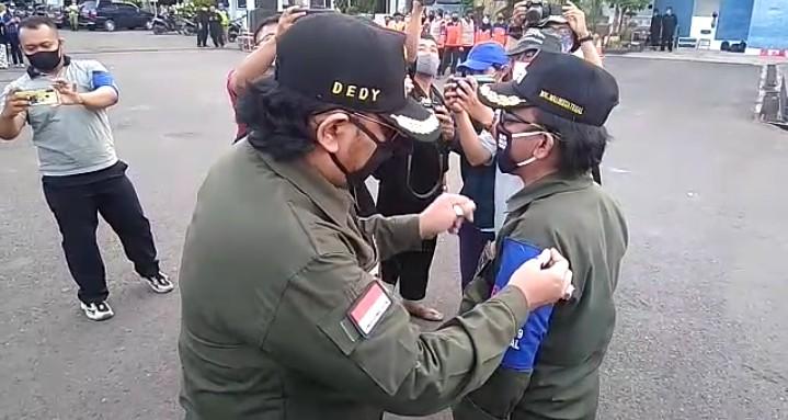 Wali Kota Tegal Resmi Lantik Relawan Mandiri Covid -19