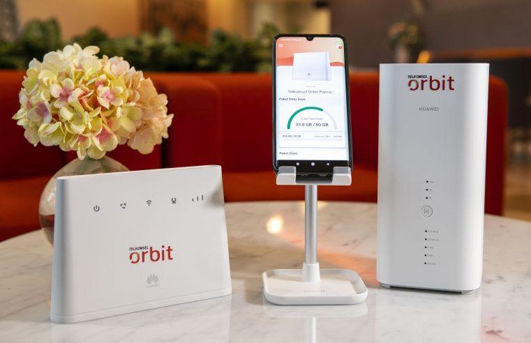 Telkomsel Orbit Hadir Sebagai Solusi Internet Rumah Serba Digital