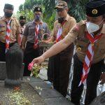Jelang HUT Ke 59, Kwarran se-Kota Tegal Adakan Giat Serentak di Antaranya Ziarah Makam CLERED