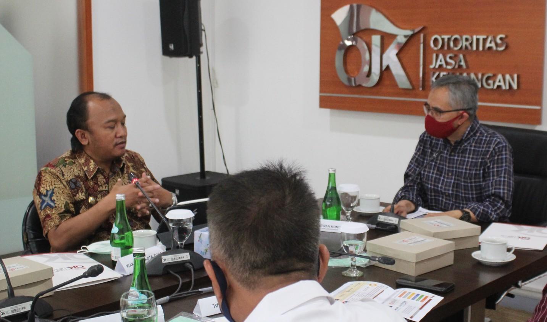 Diskusi Bersama Dewan Komisioner OJK, Pemkot Tegal Optimis Geliat Pertumbuhan Ekonomi Kota Tegal di Masa Pandemi Mampu Menjadi Contoh