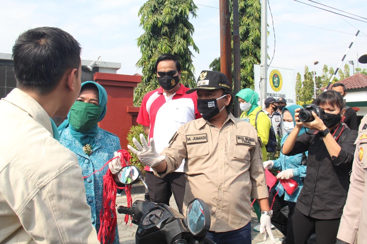 Pemkot Tegal Gencar Sosialisasi Penggunaan Masker