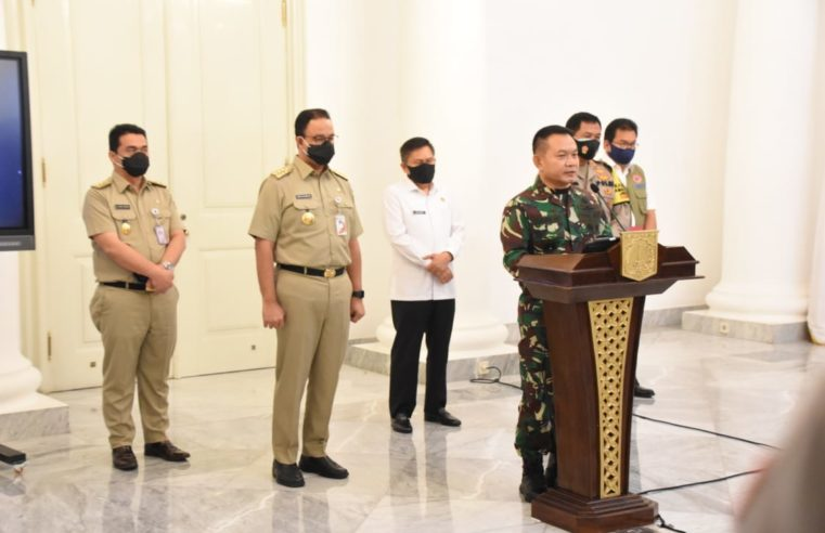 Jakarta PSBB, TNI – POLRI Berikan Dukungan Penuh