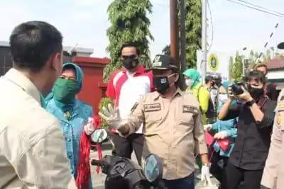 Gegara Sering Operasi Yustisi, Warga di Kota Tegal Mulai Banyak Gunakan Masker Saat Beraktifitas