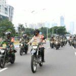 Danrem 051/Wkt dan Dandim 0504/Jakarta Selatan Tinjau Situasi Wilayah Jaksel