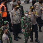 Pangdam Jaya Bersama Kapolda Pantau Aksi Demo Tolak UU Cipta Kerja