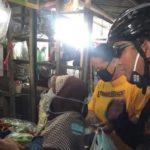 Kota Tegal 19 KM Gowes, Susuri Pasar Edukasi Disiplin Protokol Kesehatan