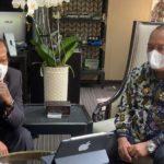 Jumadi – Budi Setiyadi Bahas Wacana Pembangunan Terminal Tipe A Kota Tegal