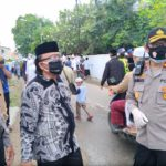 Sinergitas TNI – POLRI dan Forkopimda Lakukan Pelaksanaan Protokol Kesehatan Saat Pemakaman Alm Habib Thohir