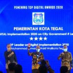 Pemkot Tegal Raih TOP DIGITAL Awards dan Top Leader on Implementation Awards 2020