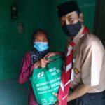 Kepedulian dengan Para Sepuh Pembatik Tegalan Hiasi Gelaran Pelantikan Pramuka Garuda