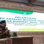 Pengurus Fatayat NU Kota Tegal Resmi di Lantik