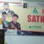 Wali Kota Tegal Dedy Yon Ajak Banser Pererat Sinergitas