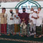 Menjelang jumat kedua M.Jumadi Shalat Jumat bersama di masjid baitul Hikmah