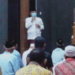 Berada di Masjid Qof, Wawalkot Tegal Imbau Disiplin Protokol Kesehatan