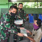 Cegah Kerumunan, Babinsa Peduli  Akan Serahkan Langsung 731 Kantong Zakat Fitrah