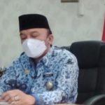 Hari Pertama Beraktifitas Jumadi Terima Kunjungan Pimpinan Kwarcab dan Ketua Badan Kelengkapan Kwartir