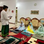 Hari Raya Idul Adha 1442 H, Wakil Walikota Tegal Sholat Ied  Bersama Keluarga di Rumah Dinas