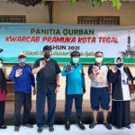 Penyembelihan Hewan Qurban, Pertama Bagi Pramuka Kwarcab Kota Tegal